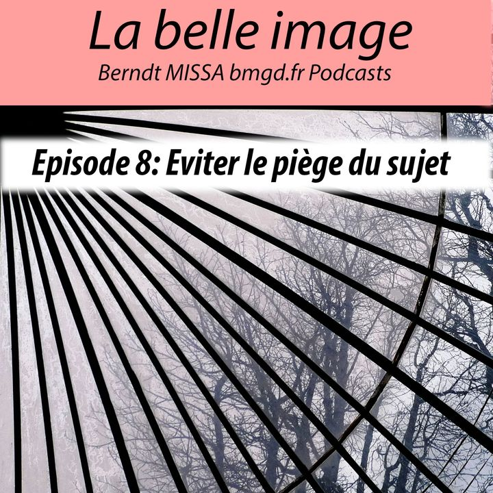 Episode 8: Se détacher du sujet pour construire l'image