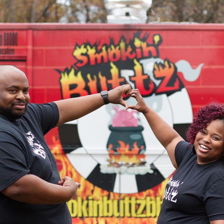Nashville Restaurant Review #4 w/ John & Mylica of SMOKIN BUTTZ BBQ 2/1/21