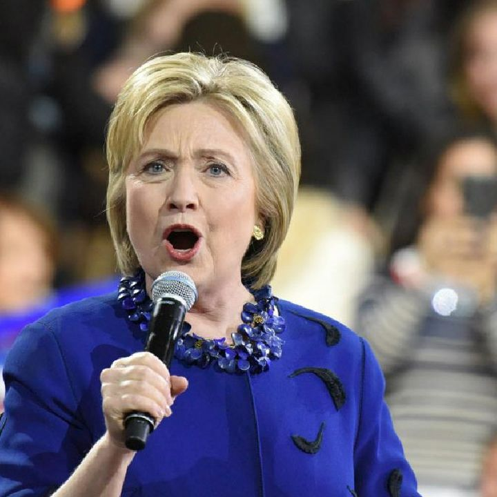 Queen Hillary says Lockdown Protesters are Domestic Terrorists +