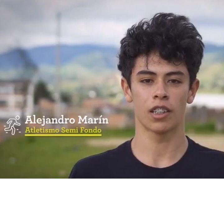 Entrevista a Alejandro Marín, atleta de Chocontá