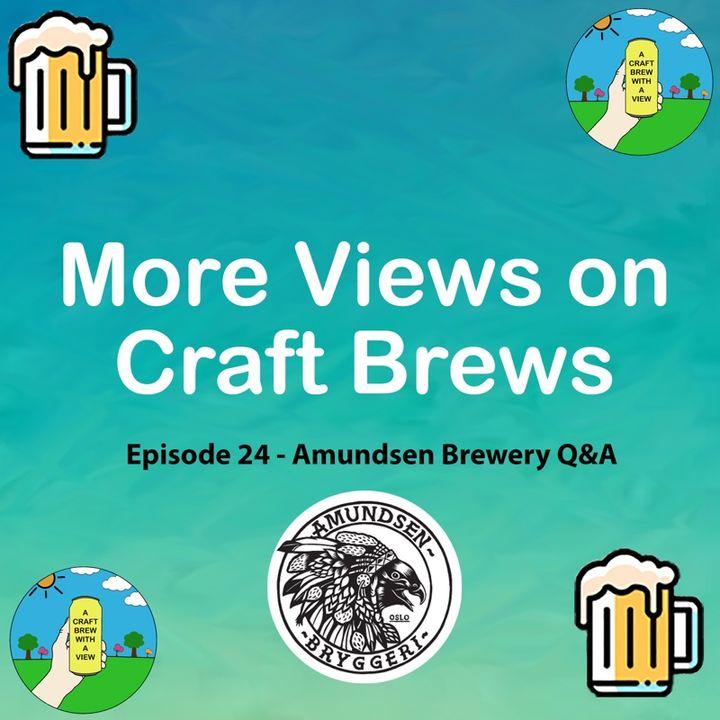 Episode 24 - Amundsen Brewery Q&A