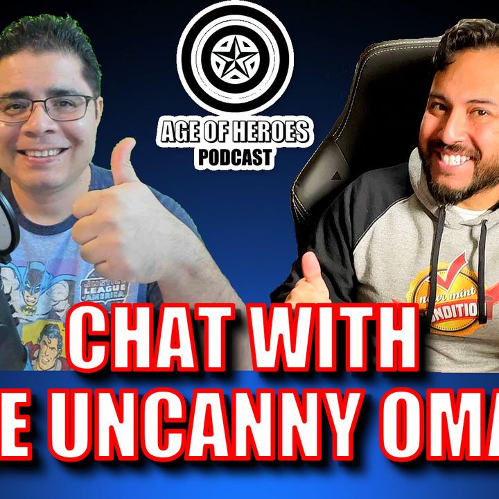 Chatting with The Uncanny Omar from Near Mint Condition   Episode #176