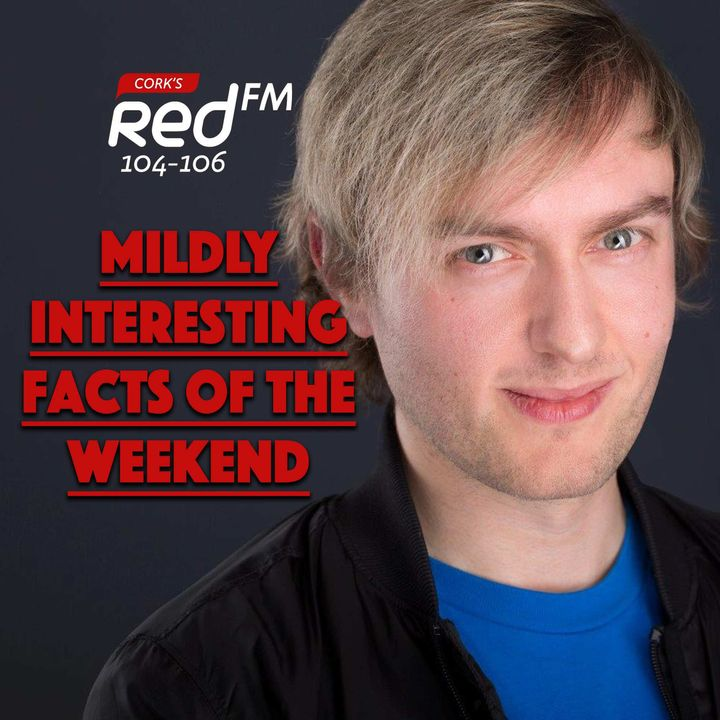 Kilian's Mildly Interesting Facts Of The Weekend - 29th August 2021