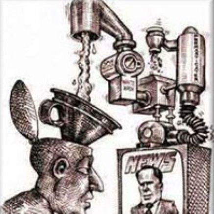 Giornali e televisioni non informano, ma fanno propaganda