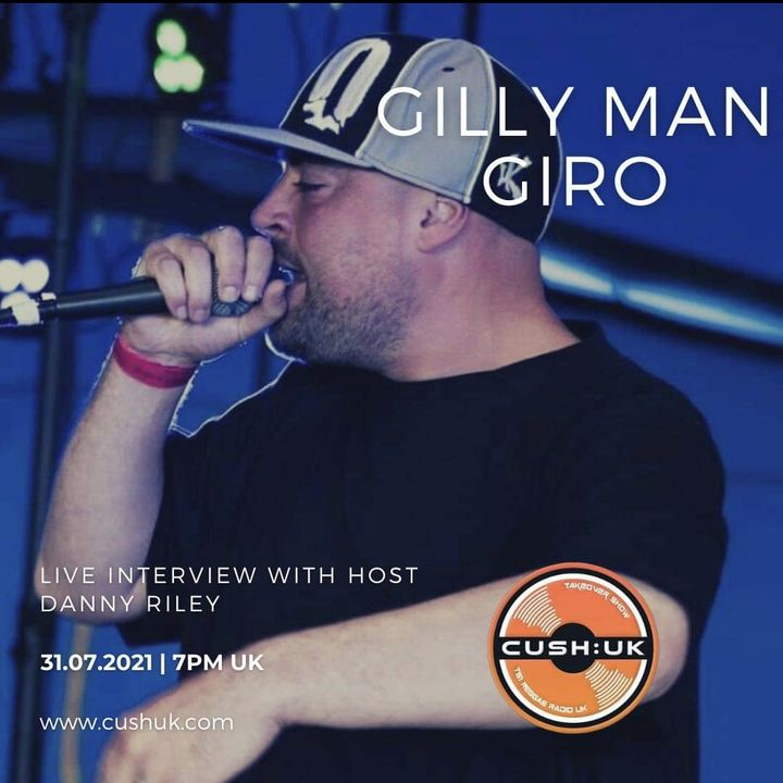 The Cush:UK Takeover Show EP. 202 - The RRR Show With Special Guest Gilly Man Giro