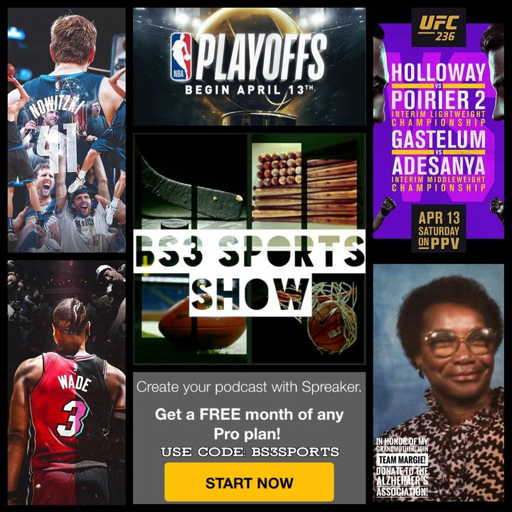 """BS3 Sports Show - """"#NBAPlayoffs...Now The Real Fun Begins"""""""