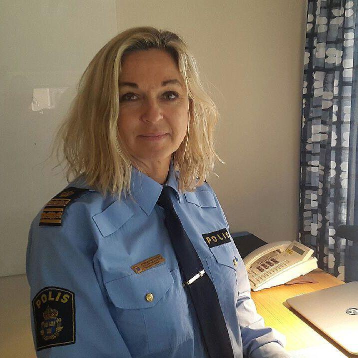 Annika Laestadius lokalpolisområdeschef
