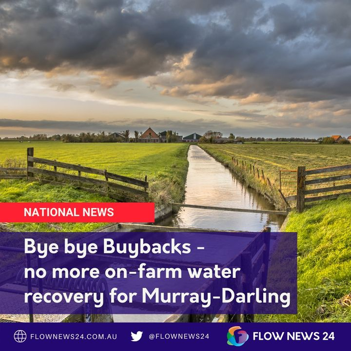 Federal water minister's bombshell bye-bye to farm buybacks