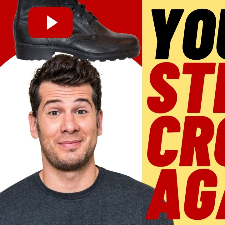 YOUTUBE Hits STEVEN CROWDER With Another Strike.  Big Tech Cancel Culture