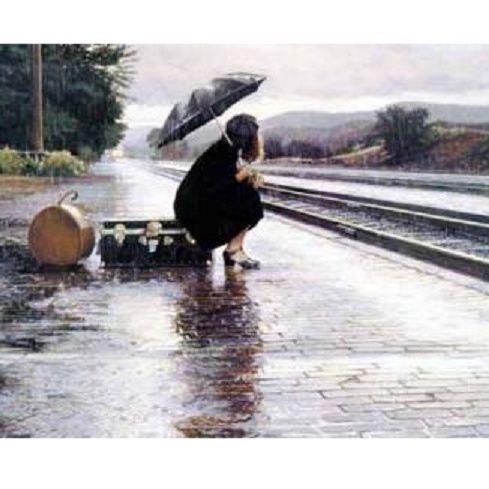 #castelguelfo Le train!