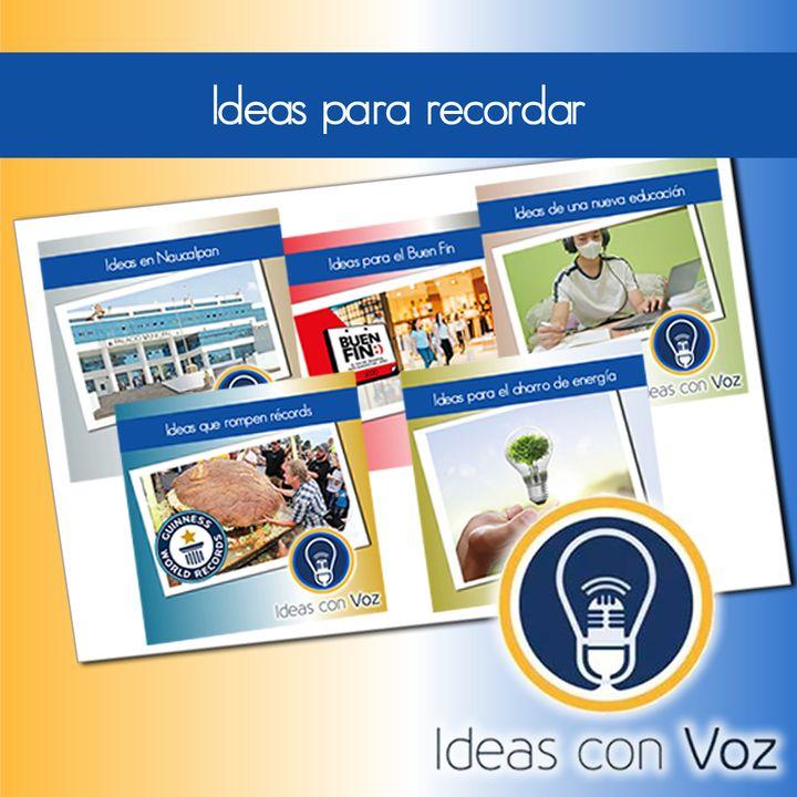Ideas para recordar