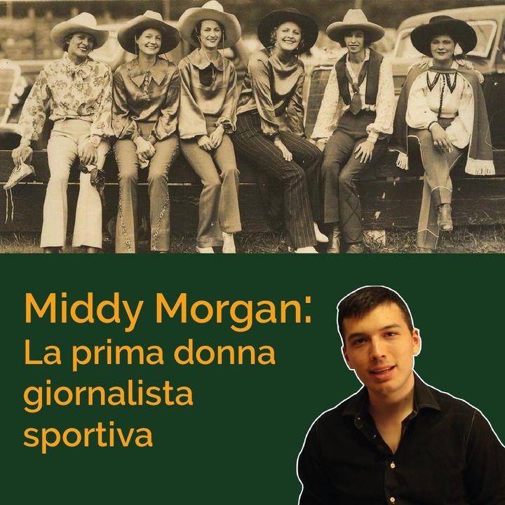 Middy Morgan, la prima giornalista sportiva donna