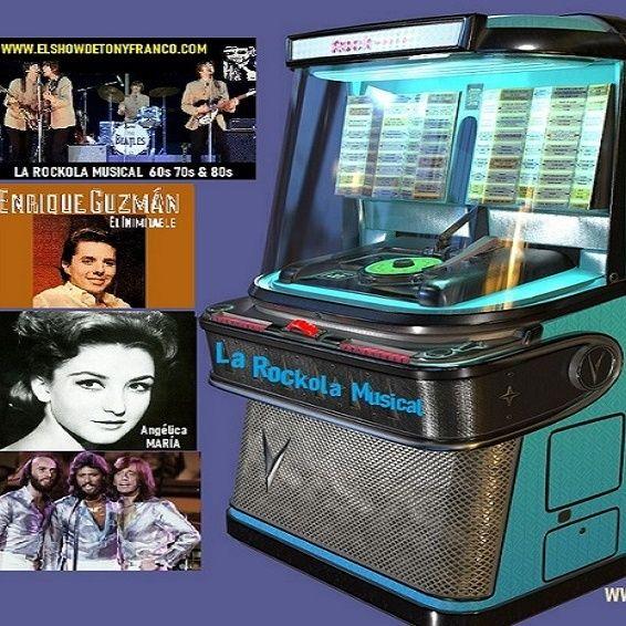 """""""ROCKOLA MUSICAL"""" viejitas oldies 60s-90s hits"""