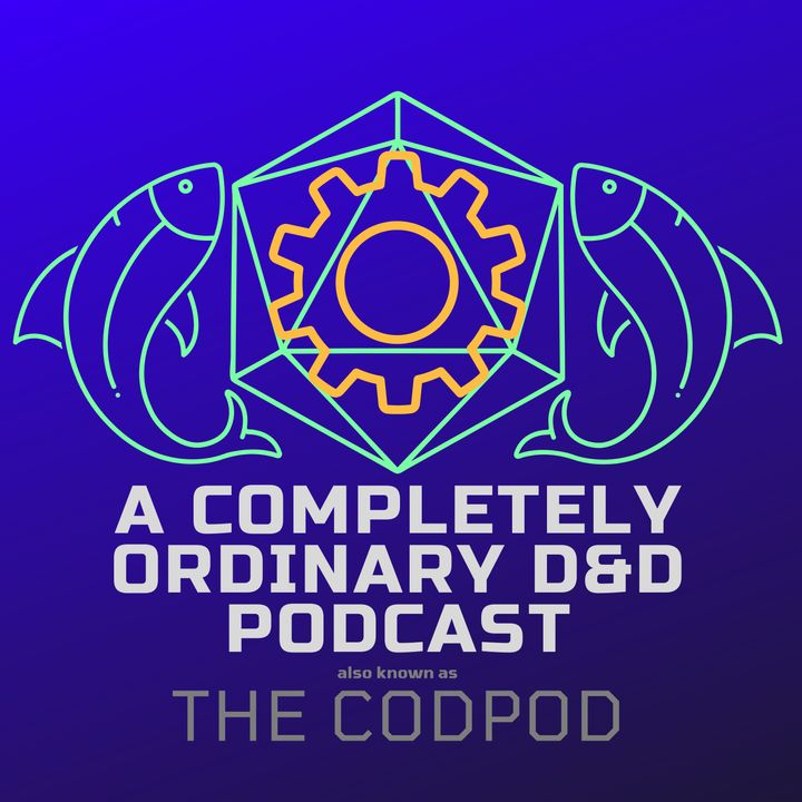 The CodPod - Episode 1 - Robots, Crystals, and M-Tek, Oh My!