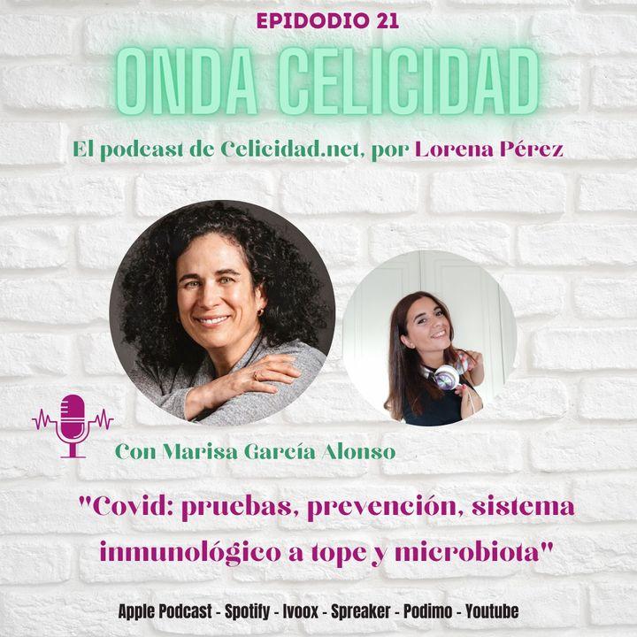 OC021 - Covid, sistema inmune y microbiota, con Marisa Garcia Alonso