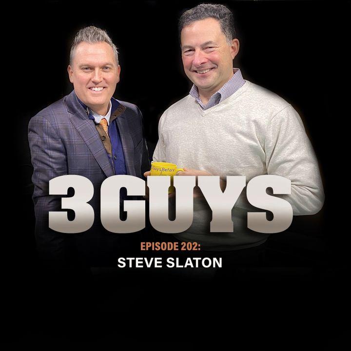 WVU's Steve Slaton with Tony Caridi and Brad Howe