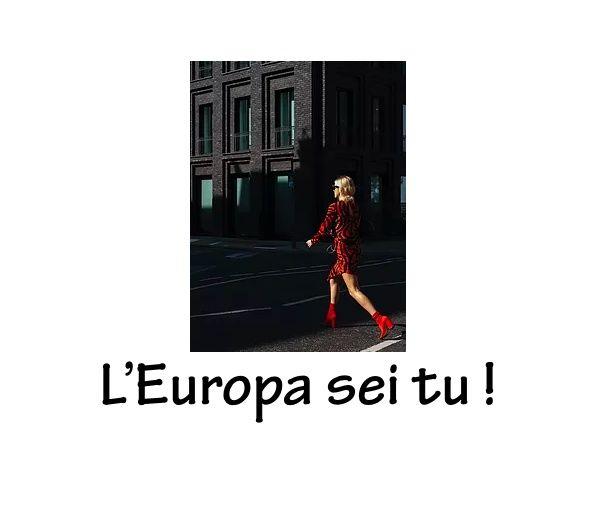 """L'Europa sei tu! """"L'Europa e le piccole e medie imprese. Accedere ai nuovi mercati europei"""" GIUSEPPE DE FRANCESCO di e con Sergio Diana"""