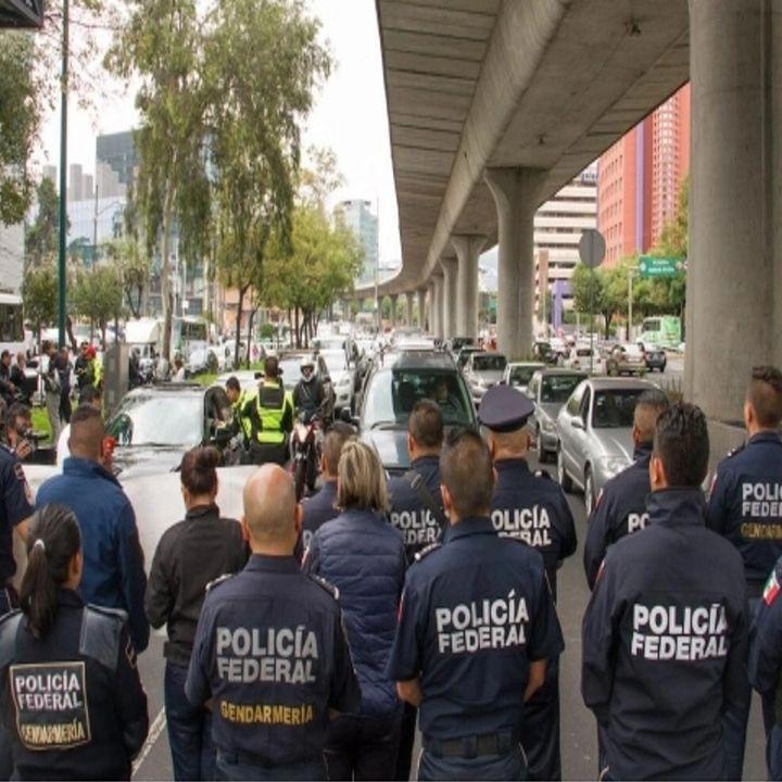 Policía Federal anuncia paro nacional