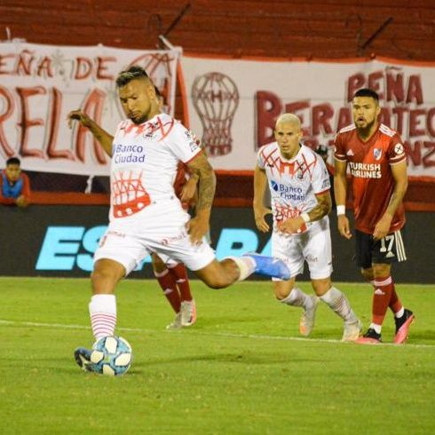 Gol de Huracán: Andrés Chávez