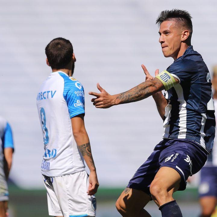 Gol de Talleres: Carlos Auzqui 1-1