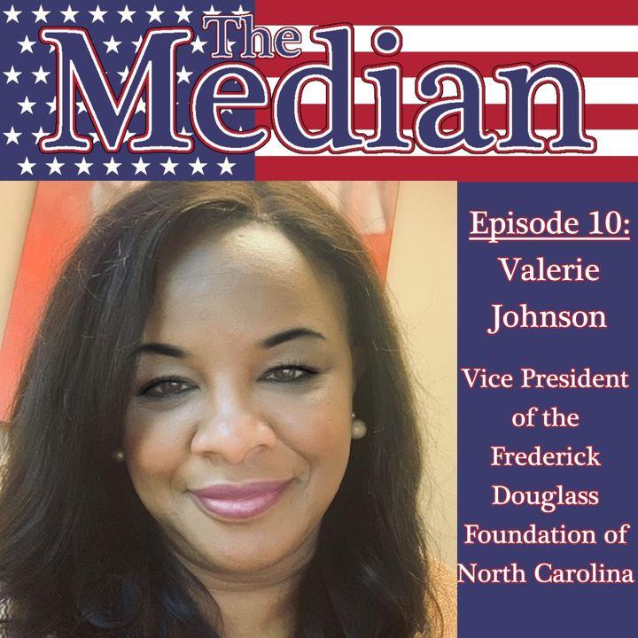 10. Valerie Johnson, Vice President of the Frederick Douglass Foundation of North Carolina