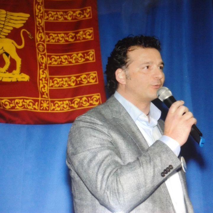 Cafè independente - 20 febbraio 2021 - Ospite  Michele Favero segretario di Indipendenza Veneta