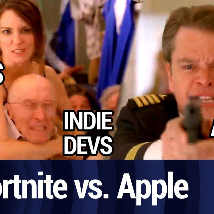 Epic vs Apple: Fortnite Fights the Fruit Company   TWiT Bits