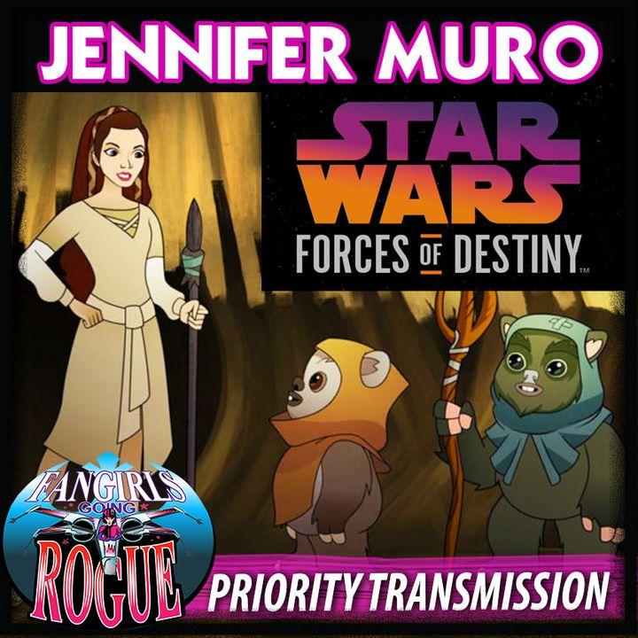 PRIORITY TRANSMISSION #6: JENNIFER MURO, Writer, Forces of Destiny