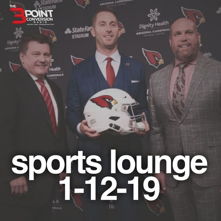 The 3 Point Conversion Sports Lounge- NFL (Where's The Minority Coaches), Divisional Playoff,  Are The Nuggets Legit, Too Many QB Transfers