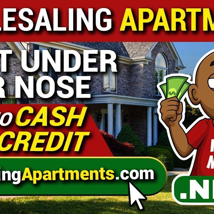 Wholesaling Apartments Right Under Your Nose With No Cash or Credit | Flipping Multifamily