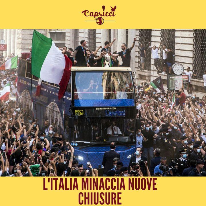 L'Italia MINACCIA NUOVE CHIUSURE e CREA ALLARMISMO sugli assembramenti dei tifosi! - Puntata 5