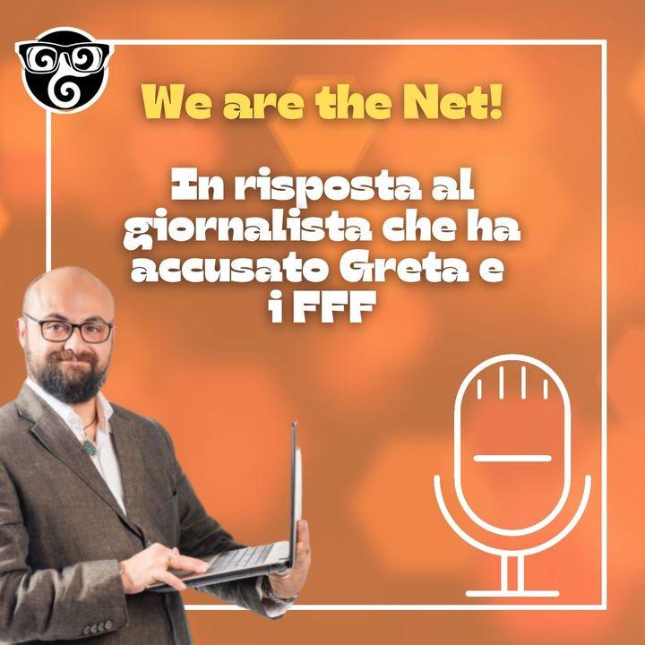 In risposta al giornalista che ha accusato Greta e i FFF