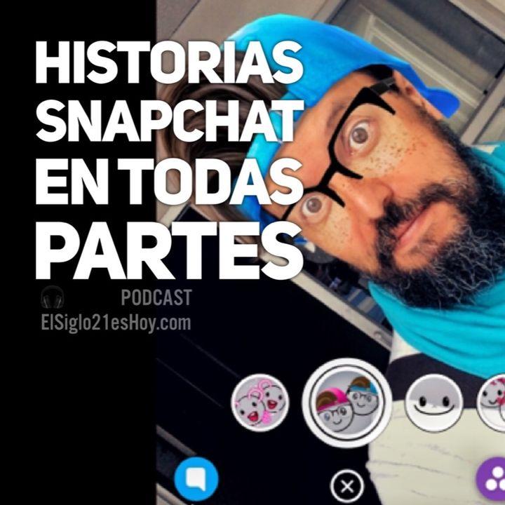 Snapchat en todas partes