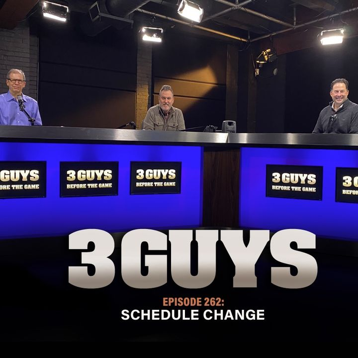 Schedule Change with Tony Caridi, Brad Howe and Hoppy Kercheval