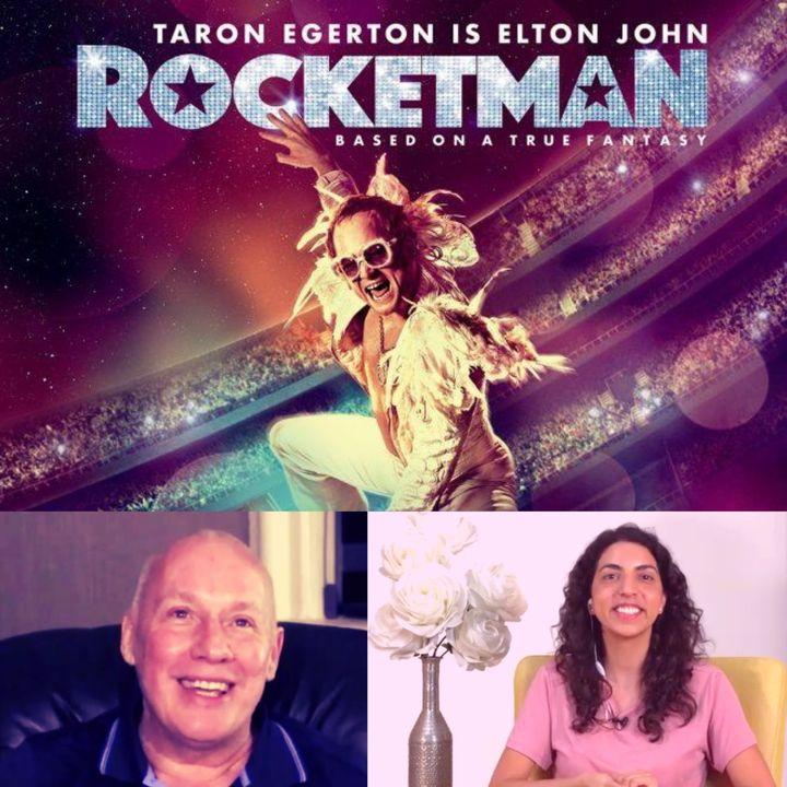 """Sesión de cine en línea - """"Rocketman"""" comentarios de David Hoffmeister traducido por Marina Colombo"""