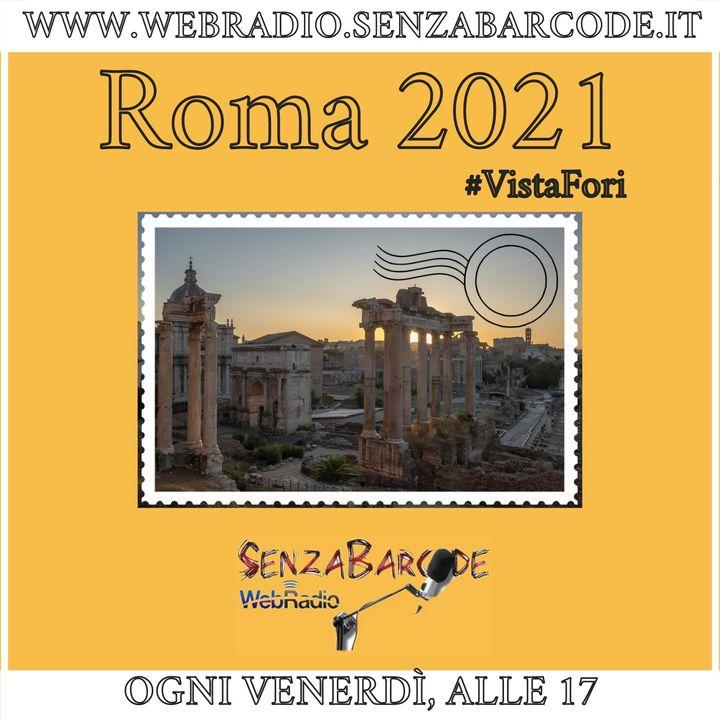 Roma2021, indiretta su Spreaker e i podcast su www.webradio.senzabarcode.it