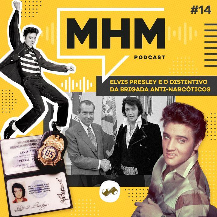 Elvis Presley e o distintivo da Brigada Anti-Narcóticos