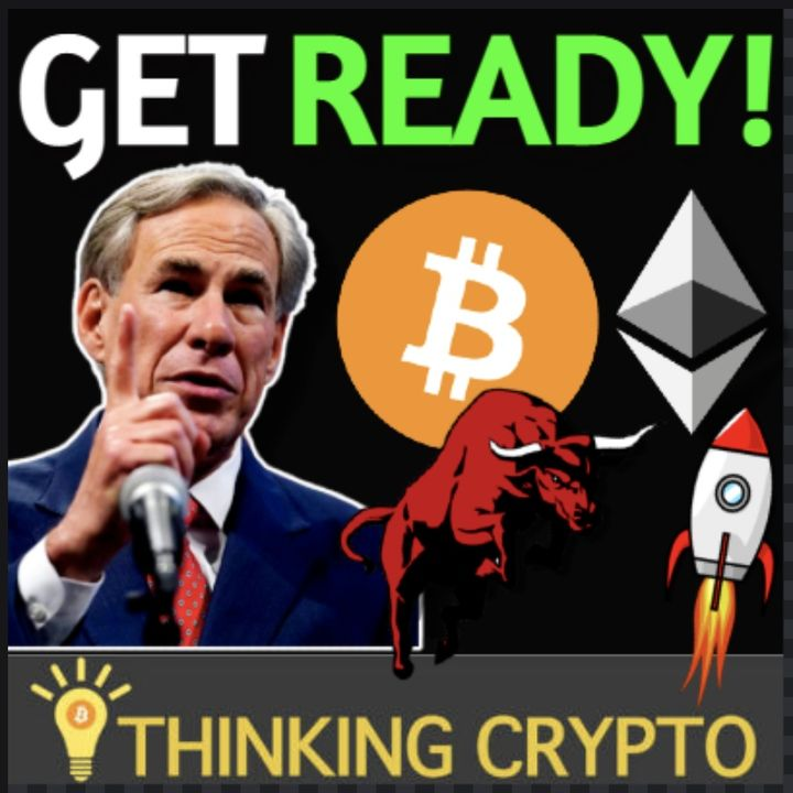 Bullish Crypto News - Texas Governor Crypto Law, Visa USDC, Governments Buying Bitcoin, Fidelity BTC