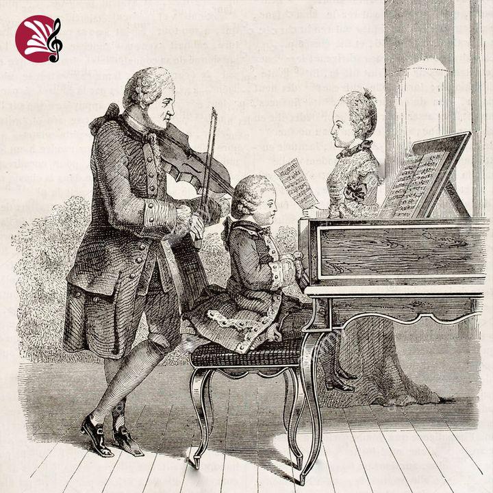 I viaggi dei Mozart in Italia