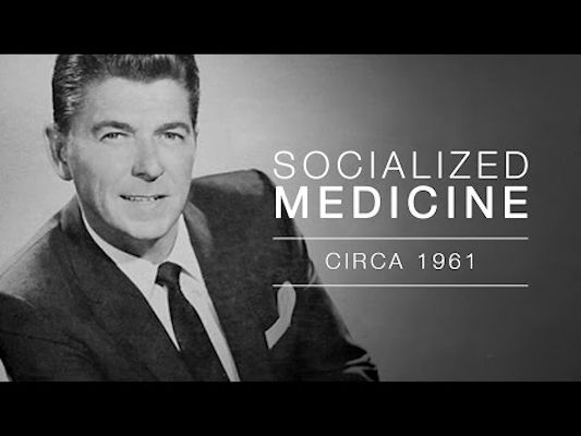 #107 - Ronald Reagan on Socialized Medicine