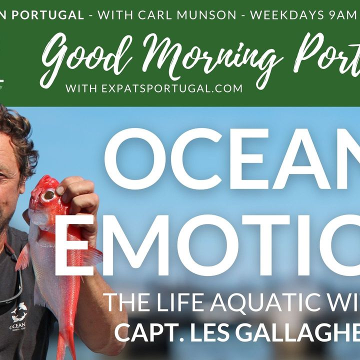 Ocean Literacy on The Good Morning Portugal! show with Oceanic's Les Gallagher