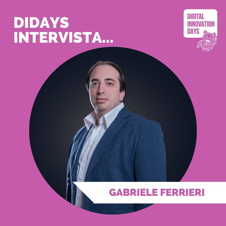 DIDAYS Incontra Gabriele Ferrieri, economista, giovane imprenditore e presidente @ANGI