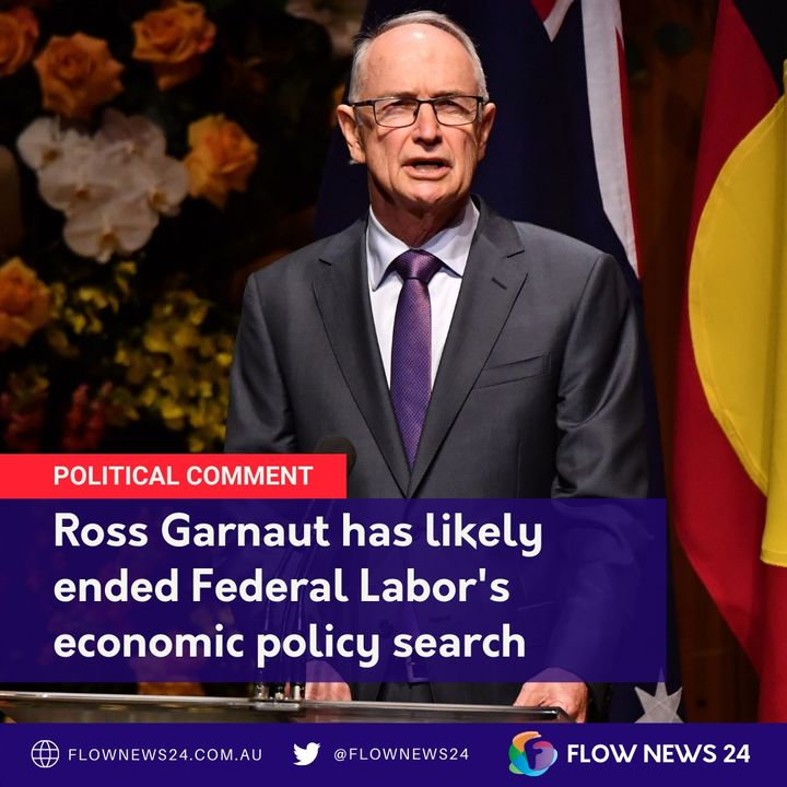 Has Ross Garnaut written @AustralianLabor's economic policy for Anthony Albanese (@AlboMP)?