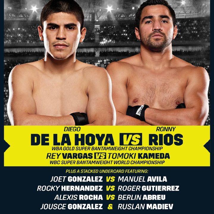 Preview Of A DaznUSA Goldenboy WBC SuperBantamweight Titlefight Between Rey Vargas-Tomoki Kameda+Diego De La Hoya-Ronny Rias For Naba Title!