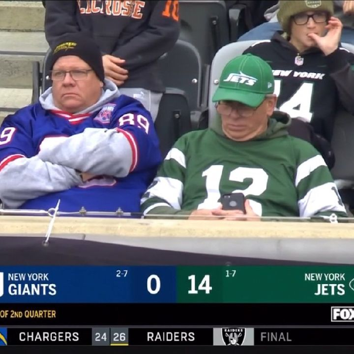 Gi-Aints Lose To The JETS Is Saquon Overrated?