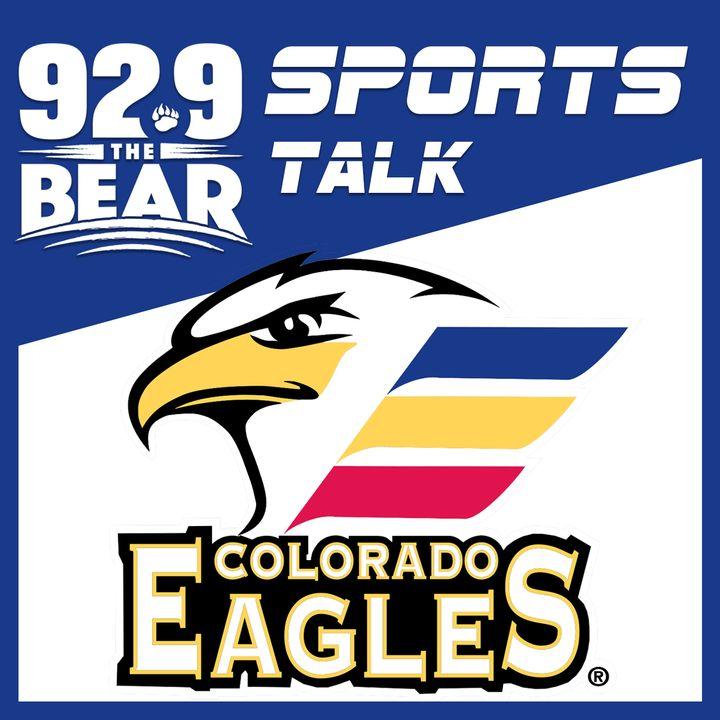 Doc talks with Colorado Eagles forward Andrew Agozzino
