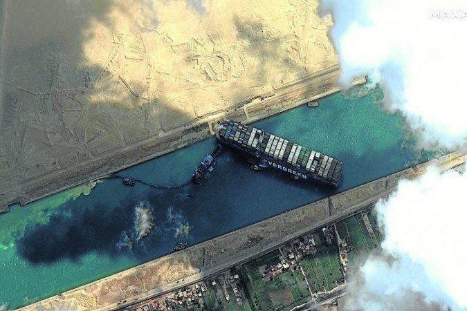 Episodio 30 - Porque o bloqueio do canal de Suez está causando prejuízos em todo o mundo?