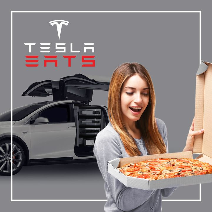 158. Tesla EV Robo-Taxi Could Take Over Food Delivery