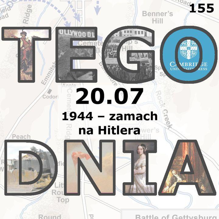 Tego dnia: 20 lipca (zamach na Hitlera)
