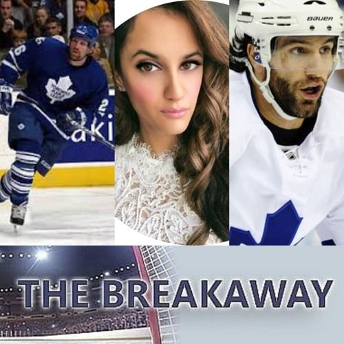Special The Breakaway Game 1 Review Leafs/Bruins W/Former Maple Leafs Nathan Perrott & Mike Zigomanis also with Nabeela Damji
